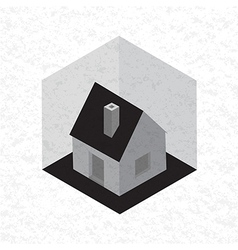 Symbol of house vector image vector image