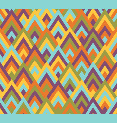 seamless pattern rhombus style vector image