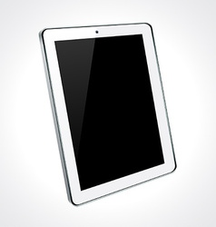 White tablet concept vector