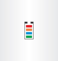 battery symbol icon vector image
