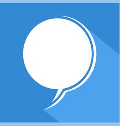 Blue comic icon vector