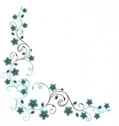 elegant foliage vector image vector image
