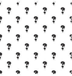 Question mark isolated on white background vector