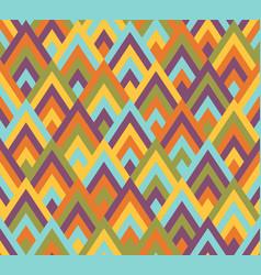 seamless pattern rhombus style vector image
