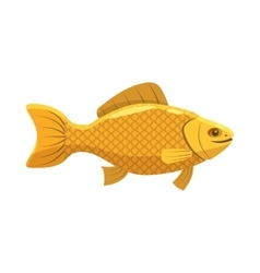 Fish snack for beer icon cartoon style vector