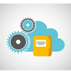 Cloud computing data storage vector