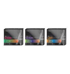 condom packaging design vector image
