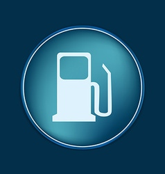 Gas station symbol gas station gasoline and fuel vector