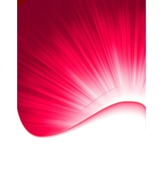 Abstract burst card vector image vector image