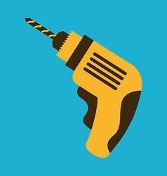 Drill design vector
