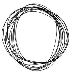 Sketch doodle frames vector