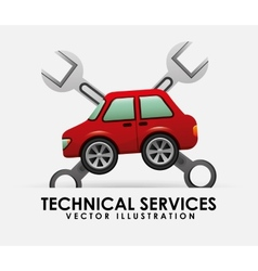 Technical service vector