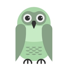 Cartoon owl vector