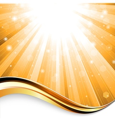 Sunbeam background vector
