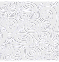 Seamless background with spirals vector image