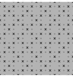 Star and polka dot geometric seamless pattern 312 vector image vector image