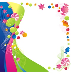 sweet celebratory design vector image