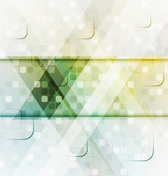 background with abstract square composition vector image