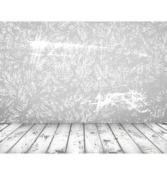 grunge vintage interior vector image