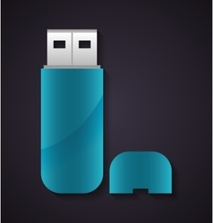 Usb icon technology design graphic vector