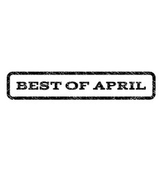 best of april watermark stamp vector image vector image