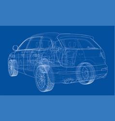 Concept car vector