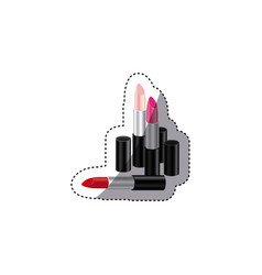 Lipstick of woman icon image vector