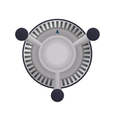 Fan supply house electric appliance icon vector
