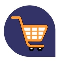 Cart or shopping icon of set tricolor vector