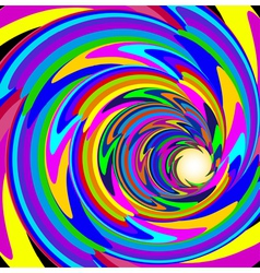 cosmic background with bright spiral vector image vector image