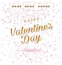 Happy valentines day card design valentine vector