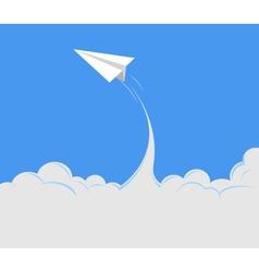 paper plane 1 vector image