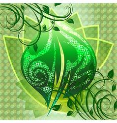 Power green vector