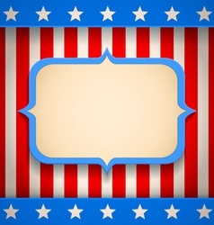 USA banner vector image vector image