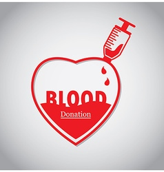 Blood donation vector