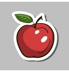 AppleSticker vector image vector image