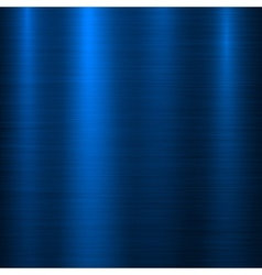 Blue Metal Technology Background vector image vector image