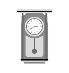 Pendulum clock icon image vector