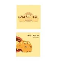 Rail Road Sample vector image