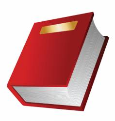 The red book vector
