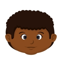 Boy kid cartoon vector