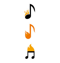 musicnotes vector image