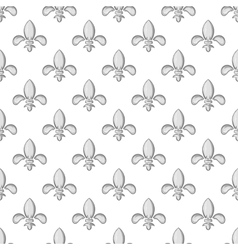 Knight ornament seamless pattern vector