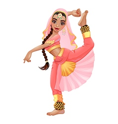 Indian dancer vector