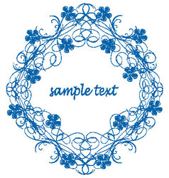 Antique Frame ornament vector image