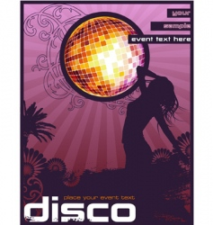 disco vector image
