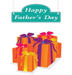 father day label vector image vector image