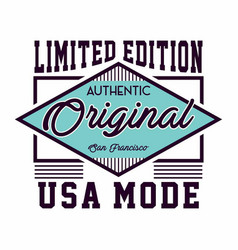 Original usa mode vector