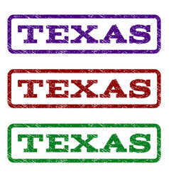 Texas watermark stamp vector