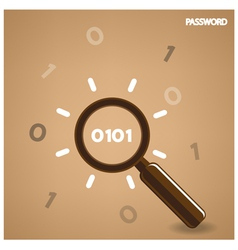 search symbolbusiness ideas vector image